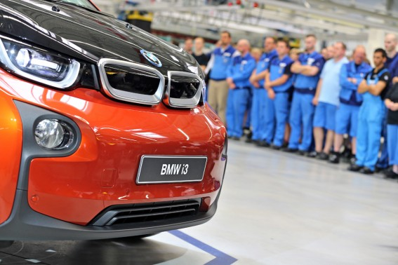BMW startet Produktion i3