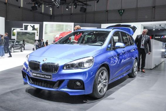 BMW 2er, Gran-Tourer: Sitzprobe